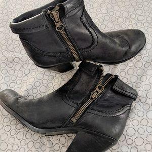 💥 SALE 💥 Sam Edelman black ankle boots size 7